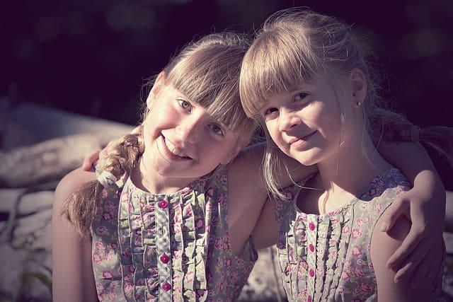 笑顔の女の子達